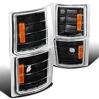 Spec-D Tuning 2LC-G1G3JM-V2-TM シボレー C/K C10 ピックアップ シルバラード 1500 タホ ブラック コーナーシグナルライト