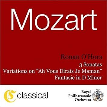 Wolfgang Amadeus Mozart, Piano Sonata No. 8 In A Minor, K. 310
