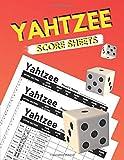 Yahtzee Score Sheets: Yahtzee Score Pads, Dice Board Game, Record Book Yahtzee Score Cards ( Yahtzee Score Game ) Simple Large size 8.5 x 11 inches 120 Pages