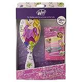 Wet Brush Rapunzel - Juego de 2 cepillos para el cabello desenredante y 4 botones a presión (1 unidad)