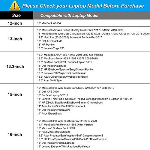 MOSISO Laptop Hülle Tasche Kompatibel mit 13-13,3 Zoll MacBook Pro, MacBook Air, Notebook Computer,Canvas Marmor Muster Sleeve Schutzhülle, Weiß