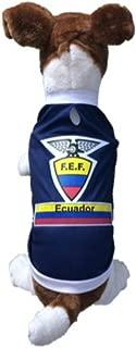 Dog Soccer Jersey Ecuador
