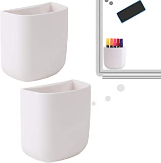 (2 pcs/Set) Office Supplies Pen Holder Organizer Caddy Self Adhesive Cubicle Wall Mounted Stick On Store Pens, Pencils, St...