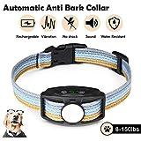 JJOBS Collare Antiabbaio Cane, 3 modalità, Automatico, Impermeabile (Blu4)...