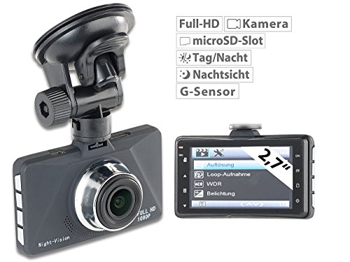 NavGear Full-HD-Dashcam MDV-2900 - 2