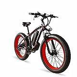 26' E-Bike Bicicletas Electricas de Montaña, 1000w 48v 17.5A Bici Electrica para Adultos, Bike Electric Sistema de Transmisión de 21 Velocidades