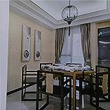Juego de vinilo Pegatina de dormitorio Pegatina Nueve Acrílico Moderno nuevo papel pintado no tejido a cuadros clásico chino