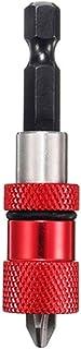 LLRYN Adjustable Screw Depth Magnetic Screwdriver Bit Holder 1/4 Inch Hex Driver with 5pcs PH2 Scewdriver Bits