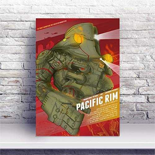 Placa MDF Filme pacific rim - círculo de fogo