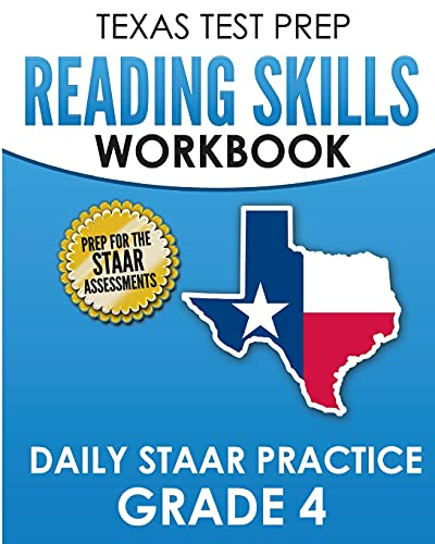Compare Textbook Prices for TEXAS TEST PREP Reading Skills Workbook Daily STAAR Practice Grade 4: Preparation for the STAAR Reading Tests  ISBN 9781725167933 by Hawas, T.