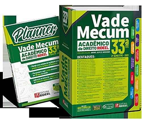 Vade Mecum Acadêmico De Direito - 33ª Edição (+ Planner)
