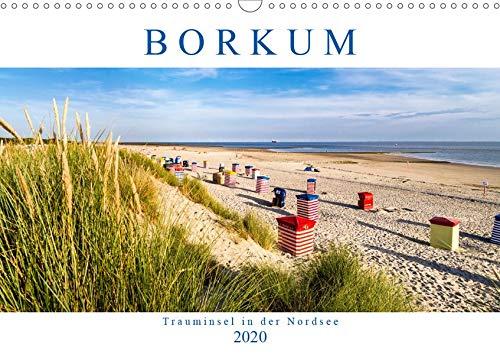 BORKUM Trauminsel in der Nordsee (Wandkalender 2020 DIN A3 quer): Besondere Momente einer Insel (Monatskalender, 14 Seiten ) (CALVENDO Natur)