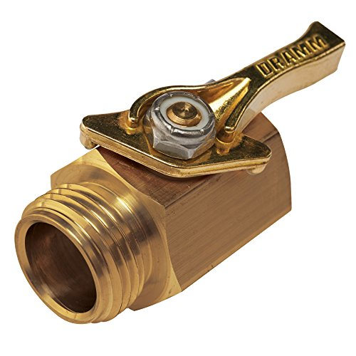 Dramm 114960 036434 4 Heavy-Duty Brass Shut-Off...