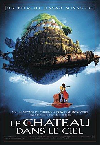 Poster Le Chateau dans Le Ciel (68cm x 98cm) + Un Poster Surprise en Cadeau!