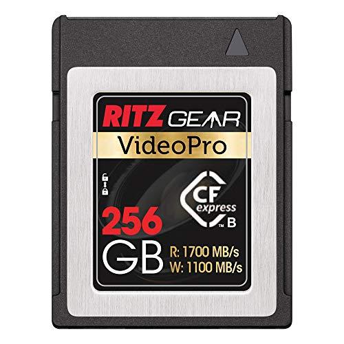 Ritz Gear Video Pro CFExpress Card 256 GB Tipo B (1700/1100 lectura/escritura)