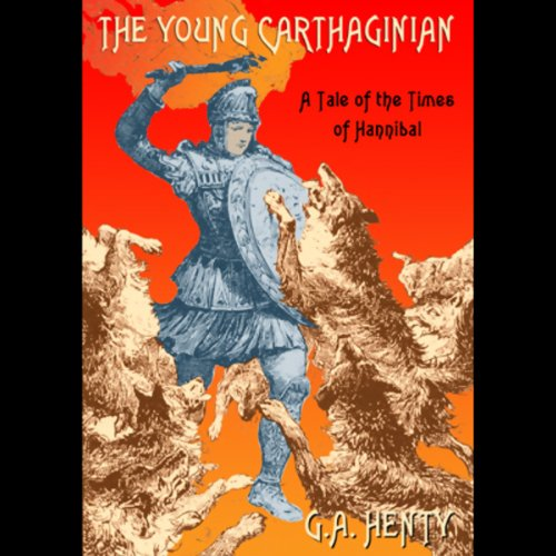 The Young Carthaginian audiobook cover art