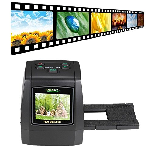Best Buy! Film Scanner, Vacio Film Slide VIEWER Scanner 14.0 Mega Pixels Negative 8G 16G 32G Slide Digitizer Film Slide VIEWER Scanner USB Digital Color Photo Copier Image Converter. (32G SD Card)