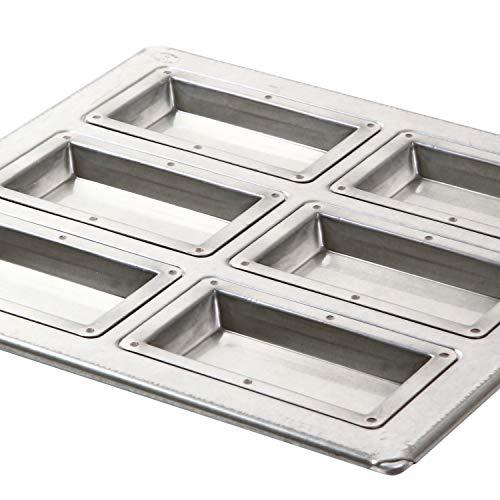 日本製シリコン加工天板(フィナンシェ型6個取)