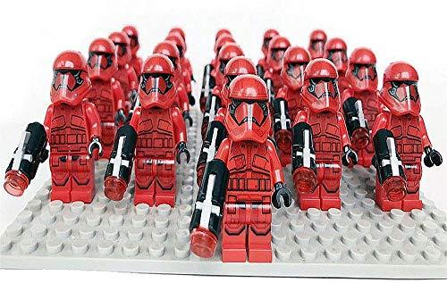 Bas Figuras Juguetes Playsets Serie Negra Modelo Estatua para niños Soldados Sith Guardia Pretoriana de élite Soldados clon Darth Vader Capitán Phasma y más 522 Imperial Trooper-Tropas Sith