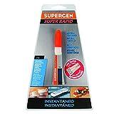 tesa 62603-00000-00 62603-00000-00-Supergen Super Rapid Cianoacrilato-Tubo 3g tapón antiobstrucción