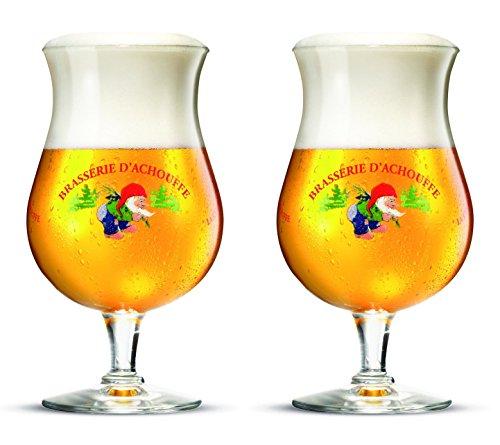 La Chouffe Biergläser Bier Kelch 25cl (Set von 2)