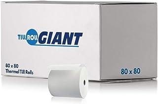 Ingenico ICT250 Lot de 5 bo/îtes de 100 rouleaux de papier thermique 57 x 38 x 12,7 mm