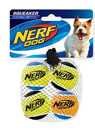 Nerf Dog Squeak Tennis Balls: Ø 4,5 cm