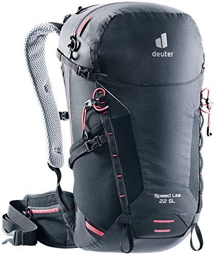 Deuter Speed Lite 22 SL, Zaino da Escursionismo Women's, Black, 22 L