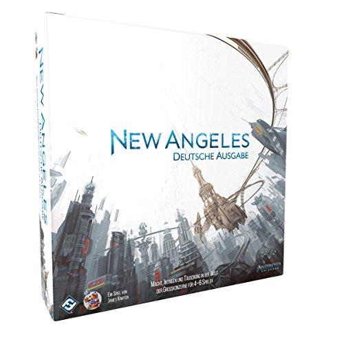 Fantasy Flight Games FFGD0108 Android: New Angeles - Juego de Mesa (Contenido en alemán)