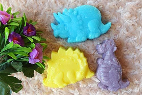 3 große Dinosaurier Seife Zucker Baby Seife für Kinder Party Bad Spielzeug Geburtstag Dino Party Kinder Geschenk