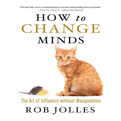 How to Change Minds audiobook cover art