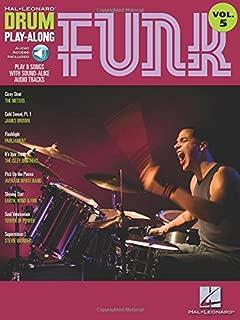 Funk: Drum Play-Along Volume 5 (Hal Leonard Drum Play-Along)