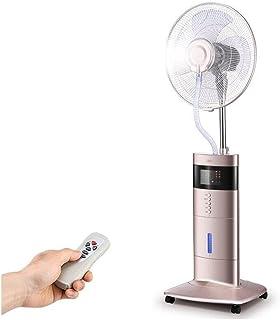 XIAOLIN Aire acondicionado portátil con control remoto y pantalla LCD, Función de temporización Ventilador de humidificación Uso doméstico Agregue abanico de agua Silenciador de agua Ventilador de enf