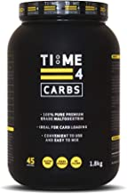 Time 4 Carbs 1 8kg Carb Powder aE 100 Pure Unflavoured Premium Grade Maltodextrin Powder aE High Calorie Weight Gain Powder aE Vegan Carbohydrate Powder aE Carbohydrate Supplement