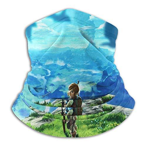 TUCBOA Magic Headband,The Legend of Zelda Seamless Warmer Bandanas Pasamontañas De Cuello para Pesca Deportiva,26x30cm