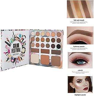 24 Colors Glitter Matte Eyeshadows Palette Waterproof Shimmer Tray Eyebrow Powder Paletas De Sombras Nuevas TSLM2 1 set1