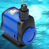 TSAUTOP Newest Bomba de Agua de Acuario Sumergible Ultra silenciosa para el Tanque de Peces Fuente de jardín de jardín Bomba de Filtro de Agua rocoso 500-3500L / H (Color : 3000LPH)