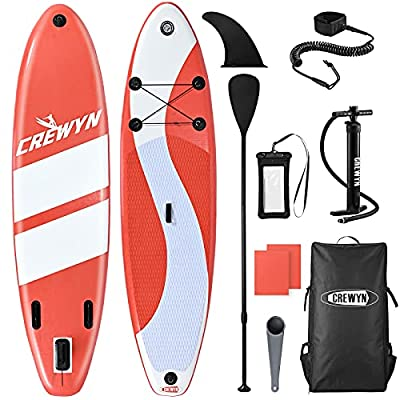 """Amazon - 30% Off on Inflatable Stand Up Paddle Board – 10'30""""6"""" Lightweight Paddle Board"""