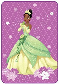 Disney Princess Tiana Plush Blanket Oversized Throw