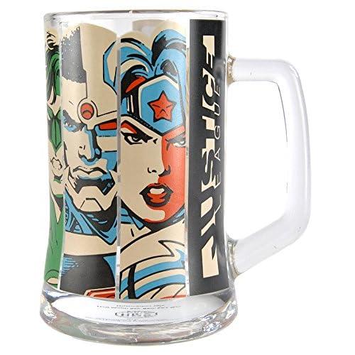 DC Comics Boccale Congelatore, Multicolore, 11.5 x 13 x 8 cm