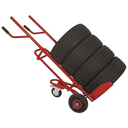 Varan Motors WHEEL-TRL Transportkarre für Reifen - Stapelkarre für Reifen, Räder max.Beladung 150kg