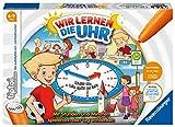Ravensburger tiptoi Spiel 00847 - Wir lernen die Uhr - interaktives Lernspiel ab 6 Jahren, mit digitaler und analoger Uhr zum selbst einstellen