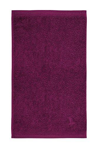 möve Superwuschel Gästetuch 30 x 50 cm aus 100% Baumwolle, berry