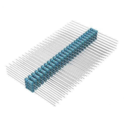 Seazoon 220 ohm Resistors 1/4w (0.25 Watt) ±1% Tolerance Metal Film Fixed Single Resistor 220ohm-0.25w-Metal
