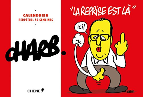 Calendrier 52 semaines Charb