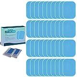 KEAWEO EMS Gel Hojas 40 PCs, Gel Pad para ABS Electroestimulador Muscular Abdominales Repuesto De Repuesto Accesorios, Reutilizable Reemplazable Hidrogel Gel Pad para ABS Máquina de Entrenamiento