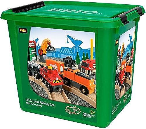 Brio 33198103 Bahn Größes Güterbahnhof-Set [Spielzeug] [Spielzeug] [Spielzeug]