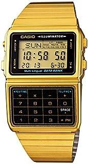 CASIO(カシオ) 腕時計 並行輸入品 Casio #DBC611G-1D Men's Gold Tone 25 Memory Calculator Databank Watch EAW-DBC-611G-1DF [並行輸入品]