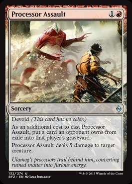 Magic: the Gathering - Processor Assault (132/274) - Batalla por Zendikar de Magic: the Gathering