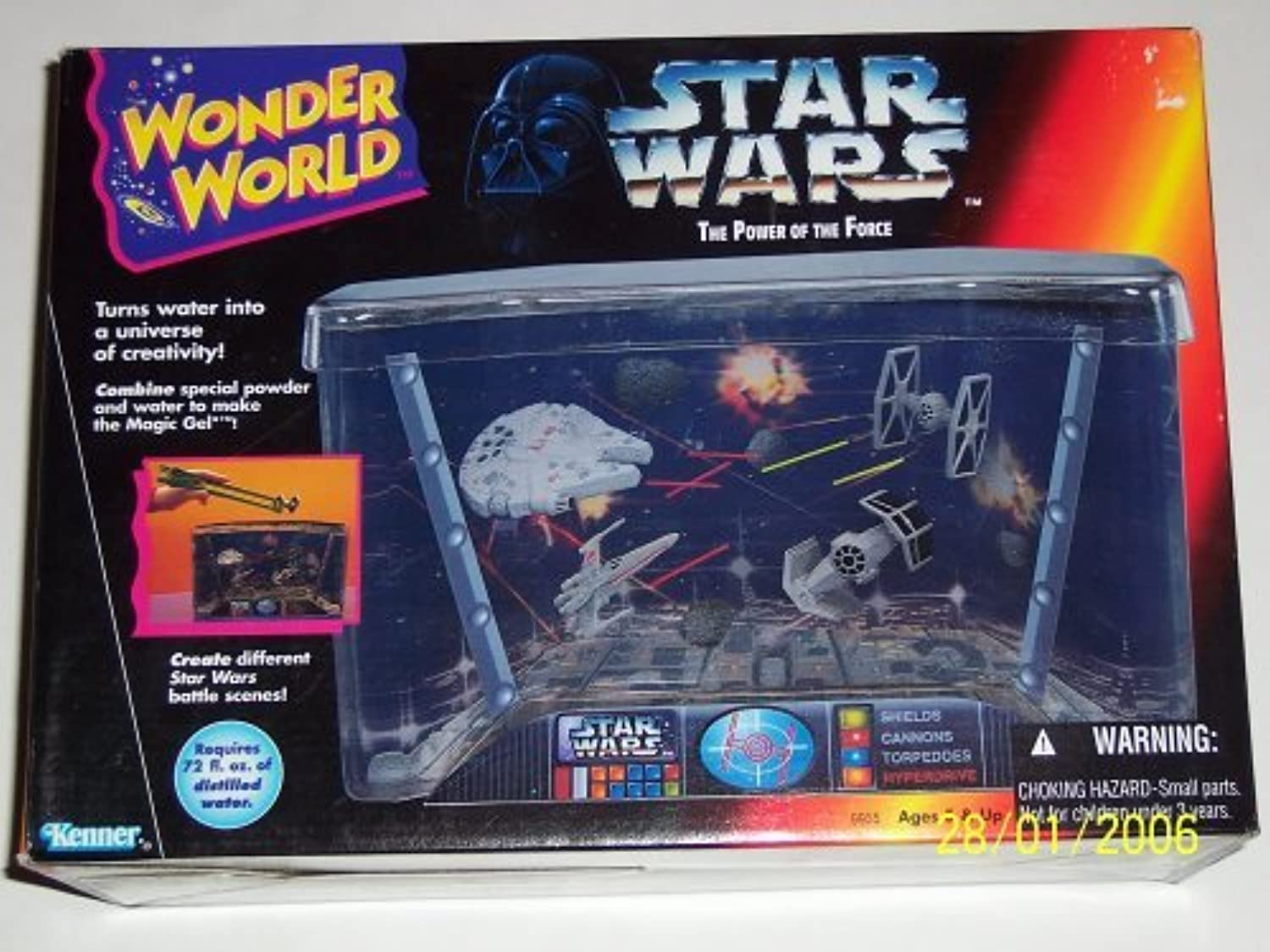 Kenner Star Wars Power Of The Force Wonder World